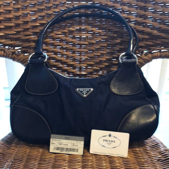 4379354070f863 Prada Bags | With Certificate Of Authenticity Card | Poshmark